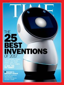Jibo-Time's Best Innovation 2017 Cover