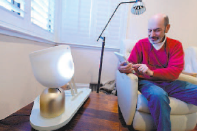 ElliQ Social Robot for the elderly
